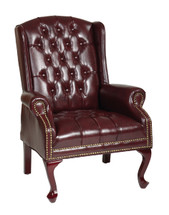 Office Star Traditional Queen Anne Style Chair TEX234