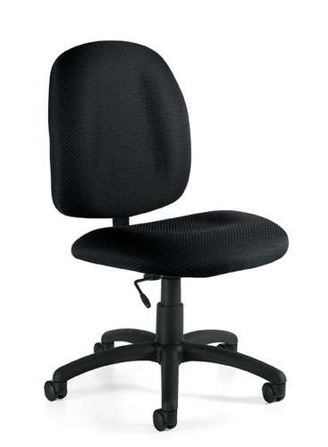 OFFICES TO GO-Task Seating-Armless Pneumatic Task Chair OTG11650-QL10