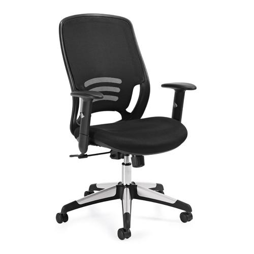 OFFICES TO GO-Mesh Seating-High back tilter OTG11685B-MS20