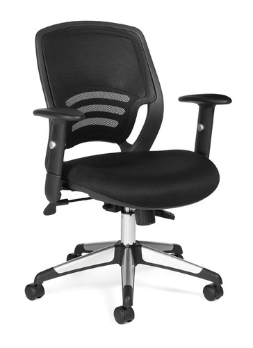 OFFICES TO GO-Mesh Seating-Medium back tilter chair OTG11686-MS20