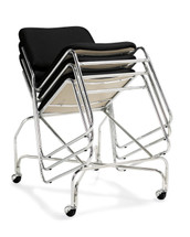 OFFICES TO GO-Stack & Guest Seating-Stack chair without arms OTG11697-QL10