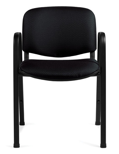 OFFICES TO GO-Stack & Guest Seating-Stacking chair with arms OTG11703-QL10