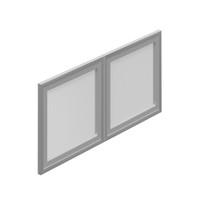 OTG-CASEGOODS-Doors-Silver doors for SL36HO/SL36WC SL36SIDR