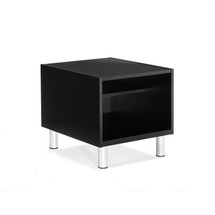Global CITI-Laminate Top End Table BLACK 7885TU-BLK
