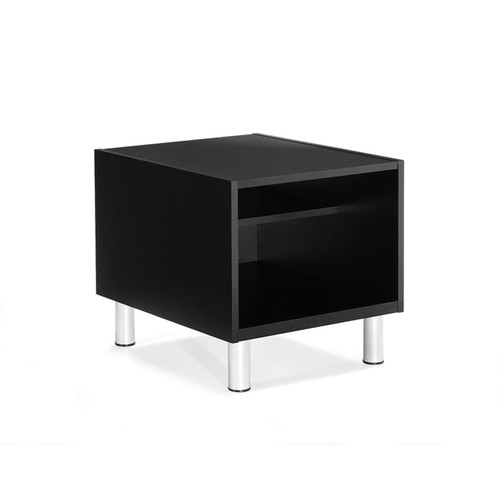 Global CITI-Laminate Top End Table BLACK 7885TU-BLK