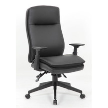 Boss Caressoft Executive High Back Chair with Adjustable Arms