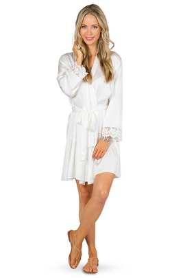 Bridal Robe - White