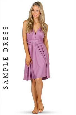 Sample Convertible Bridesmaid Dress Midi - Blush
