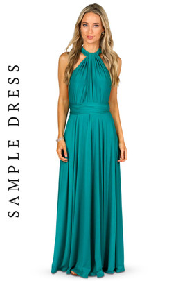 Sample Convertible Bridesmaid Dress Maxi - Jade