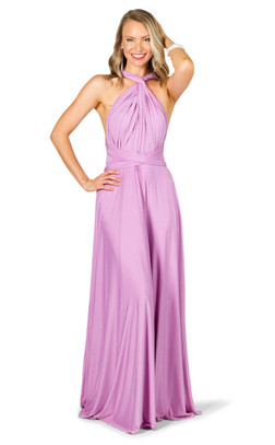 Convertible Bridesmaid Dress Maxi - Lilac
