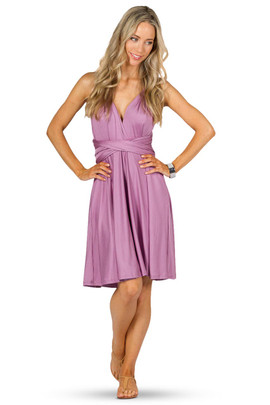 Convertible Bridesmaid Dress Midi - Blush