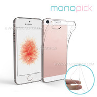 MONOPICK Hybid Transparent Crystal Clear Soft TPU Silicone Rubber Cover Case for iPhone