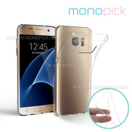MONOPICK Hybid Transparent Crystal Clear Soft TPU Silicone Rubber Cover Case for Samsung Galaxy