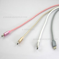 LOT NEW 1M/2M/3M micro USB Strong Braided Heavy Duty Nylon USB 2A Quick Charge Data Sync Cable for phones