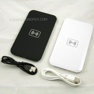 Universal QI Integrated Wireless Rectangular Charging Charger Pad for Mobile Phones