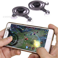 Mini Touch Screen Suction Cups Analog Mobile Joystick Game Pad Controller for mobile phones tablets