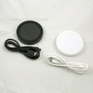 Universal QI Integrated Wireless Circular Charging Charger Pad for Mobile Phones