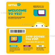 Optus 20GB/28Days Starter Kit Prepaid Epic Data Australia PAYG Pay As You Go SIM