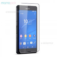 MONOPICK Premium Slim Japan AGC Tempered Glass Clear Screen Protector Film Guard for Sony Xperia Z Series