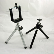 Portable Mini Tripod Stand Camera Holder with Bracket Clip For mobile phones