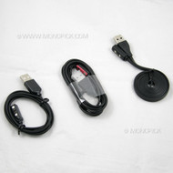 Replacement Magnetic USB Cable Charger Adapter Cord For Pebble Wrist Smartwatch