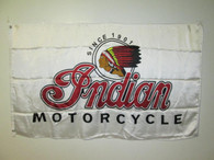 NOS New Vintage Indian Motorcycle Dealer Flag
