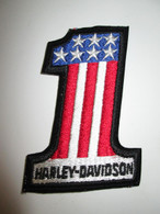 NOS Vintage Harley Davidson Knucklehead No.1 Patch