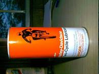 NOS OEM AMF Vintage Harley Knucklehead Panhead Full Oil Can