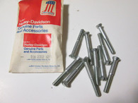 Harley 10 XLCH Sportster NOS Timing Cover Screws