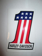 NOS Harley No.1 Decal