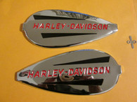 1940-1946 Harley Gas tank Emblems