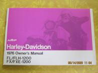 Harley Davidson 1976 FLH Owners Manual