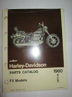 NOS 1971-80 Harley FX Parts Catalog