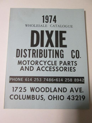 Here is a new old stock 1974 Dixie parts catalog. It has 159 pages of great old parts and prices.