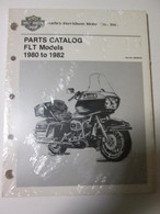 NOS 1980 - 82 Harley FLT Parts Catalog