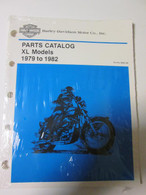 NOS1979 - 82 Harley XL Parts Catalog