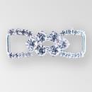 1.5 Inch Crystal Silver Rhinestone Closure, ss8.5, ss20