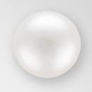 4mm PRECIOSA Glass Cabachon in  White  Color