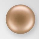 6mm PRECIOSA Glass Cabachon in Bronze Color