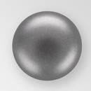 6mm PRECIOSA Glass Cabachon in Dark Gray Color