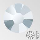 ss20 LABRADOR - PRECIOSA MAXIMA Flat Back, 15 facets, foiled