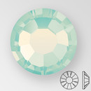 ss30 CHRYSOLITE OPAL - PRECIOSA MAXIMA Flat Back, 18 facets, foiled
