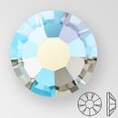 ss20 BLACK DIAMOND AB - PRECIOSA MAXIMA Flat Back, 15 facets, foiled