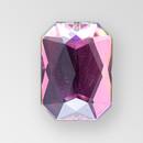 18x13mm Acrylic Octagon Sew-On Stone, Vitrail Medium color