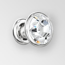 ss34 Rivet in Crystal AB Silver