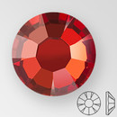 ss20 RED FLAME - PRECIOSA MAXIMA Flat Back, 15 facets, foiled