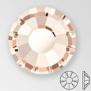 ss20 LIGHT GOLD QUARTZ - PRECIOSA MAXIMA Flat Back, 15 facets, foiled