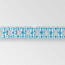 Crystal Silver Rhinestone Chain Ladder, ss18, ss29