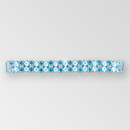 6 inch 2-row ss29, 15x7mm Navette Reinforced Crystal Silver Rhinestone Connector - on Metal Mash