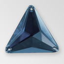 30mm Acrylic Triangle Sew-On Stone, Montana color